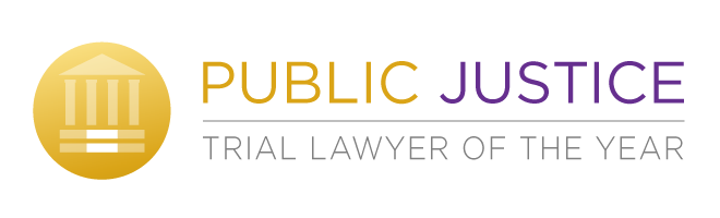 Public Justice Trial Lawyer of the Year Award